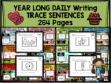 YEAR-LONG - Daily writing bundle - TRACE SENTENCES
