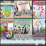 YEAR LONG Elementary Art Project Bundle