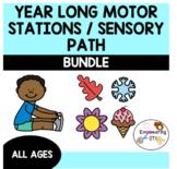 YEAR LONG MOTOR STATION / PATHWAY BUNDLE! ... OT SPED gross motor