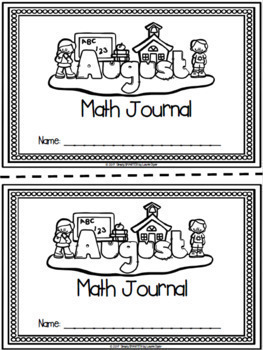 YEAR LONG Math Journal Bundle:  NO PREP Journal Prompts
