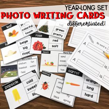 YEAR-LONG PHOTO WRITING CARDS