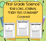 YEAR LONG Science Journal Every TEKS standard is included