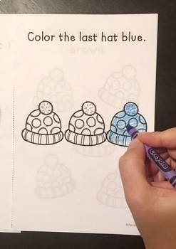 YEAR ROUND Basic Concepts Coloring Books: NO PREP!