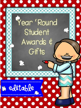 YEAR 'ROUND (EDITABLE) AWARDS AND GIFTS