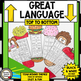 YEAR-ROUND NO PREP worksheets LANGUAGE Speech Therapy 70+ THEMES