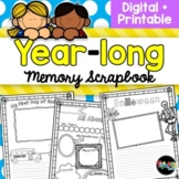 YEAR-long Scrapbook with End-of-Year Memory Book