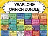 YEARLONG BUNDLE OF OPINION WRITING PIECES PACKS--PERSUASIV