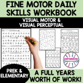 YEAR LONG DAILY PRACTICE fine motor, visual perceptual distance learning