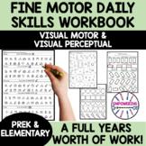 YEAR LONG DAILY PRACTICE fine motor, visual perceptual dis