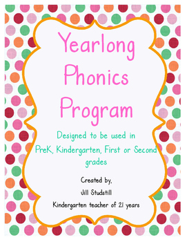 YEARLONG PHONICS PROGRAM