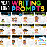 YEARLONG Writing Prompts BUNDLE | 240 NO PREP journal prom