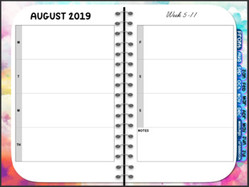 YEARLY PLANNER 2019-2020