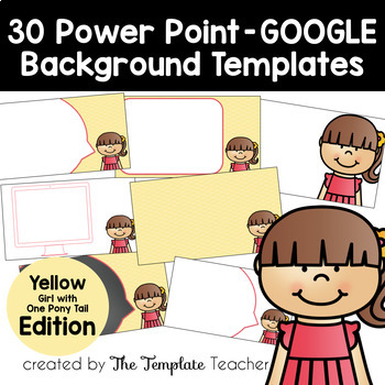 YELLOW Editable PowerPoint & Google Slides Templates -Personal & Commercial Use