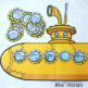 YELLOW SUBMARINE BOOK & POSTER  Early Reader Pre-K
