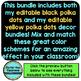 YELLOW and BLACK Polka Dots Classroom Decor EDITABLE