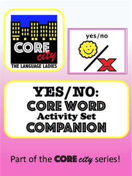YES-NO: Core Word Activity Set COMPANION