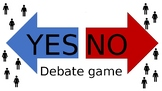 YES NO Powerpoint: Fun speaking game and debate activity