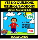 YES NO Questions FEELINGS for SEL BOOM CARDS
