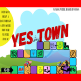YES TOWN CHILDREN'S BOARD GAME (AGES 5 AND UP)