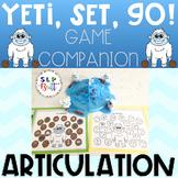 YETI, SET, GO! GAME COMPANION, ARTICULATION (SPEECH & LANG