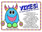 YIKES! Word Game for Partners - Great Literacy Center