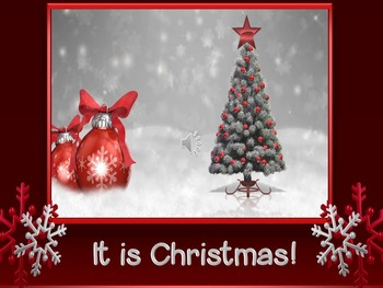 It is Christmas ! Instructional Materials Set