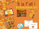It is Fall!  Instructional Materials Set