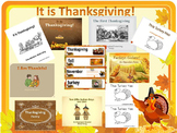 IT IS THANKSGIVING! Instructional Materials Set