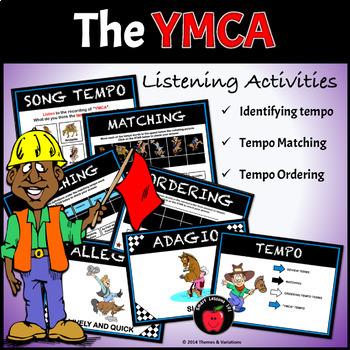 YMCA Music Activities: Dance Lesson Plans: Rhythm Stick Lesson: Tempo: Movement