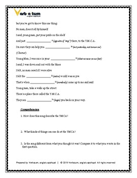 YMCA- Village People: ESL Listening Comprehension Worksheet