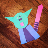 YODA SHAPE CRAFT (STAR WARS CRAFTS)