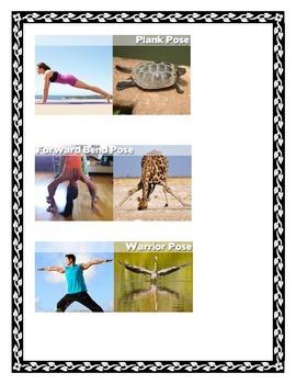 YOGA POSES & BRAIN BREAK ACTION CARDS