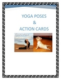 Yoga poses  & Brain Break Action Cards with Silly Animals