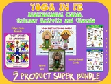 YOGA in PE: Instructional Cards, Spinner Activity and Visu