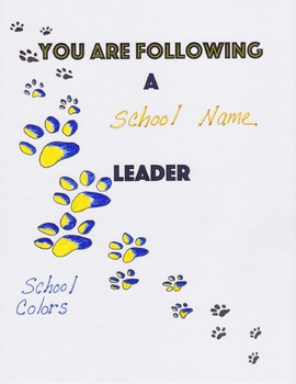 YOU ARE FOLLOWING A LEADER
