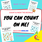 YOU CAN COUNT ON ME! MATH & ANIMALS