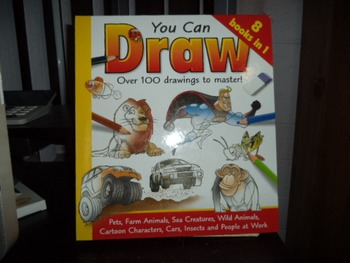 YOU CAN DRAW   ISBN 10-1-7415-7614-8  8 BOOKS IN ONE