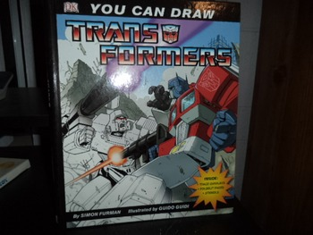 YOU CAN DRAW TRANS FORMERS