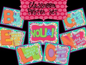 YOU & I BELONG - CLASSROOM DECOR SET