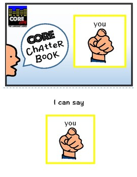 YOU: Interactive CORE City Chatter Book