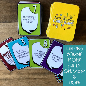 The JOY & HAPPINESS CARD GAME *Positive Psychology Counseling Fun!