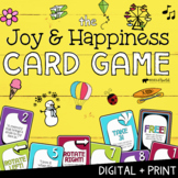 JOY & HAPPINESS CARD GAME *Positive Psychology School Counseling Intervention