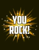 YOU ROCK Small Poster