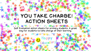 YOU TAKE CHARGE! Action Sheets