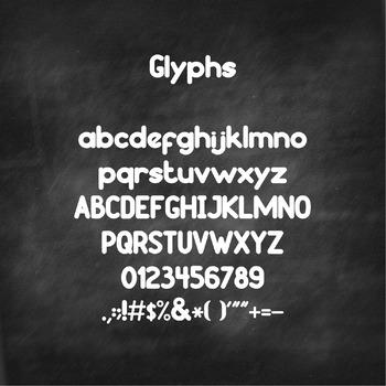 YP Estrellita font - Personal use