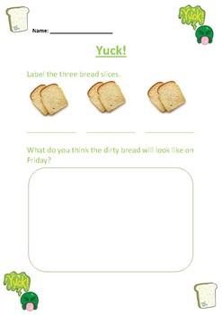 YUK! : Health and Hygiene science experiment with Bread