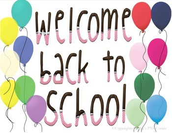 YUMMY - WELCOME BACK TO SCHOOL POSTER