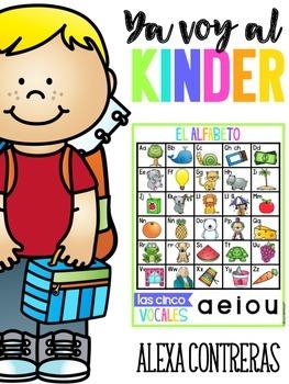 Ya Voy al Kinder (Kinder Helper in Spanish)