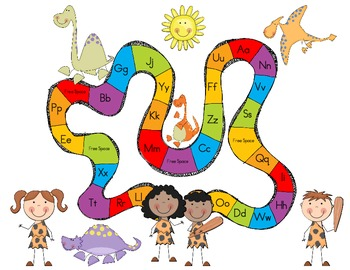 Yabba Dabba Doo!  Learn Beginning Letter Sounds