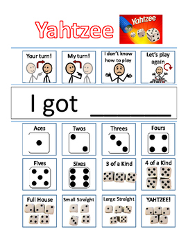 Yahtzee Visual